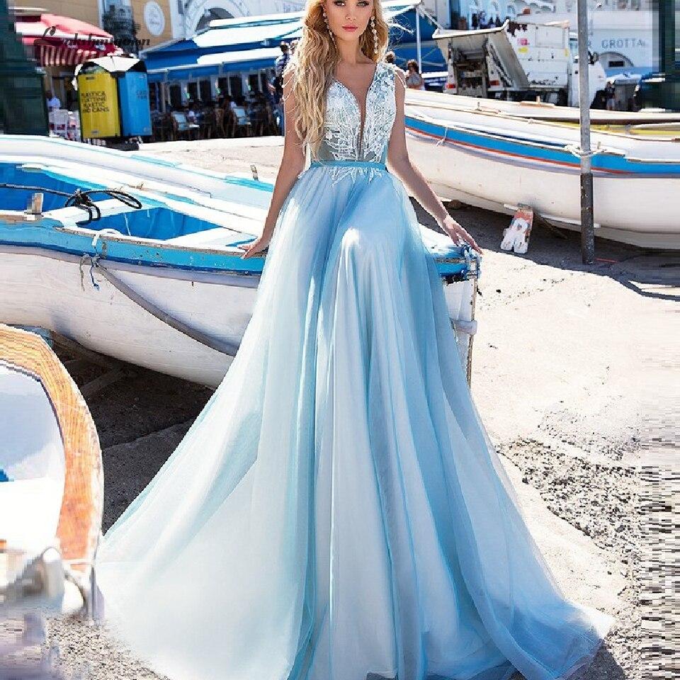 Robe de Mariee Boheme Sexy Bridal