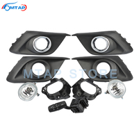 For Mazda 3 Axela 2014 2015 2016 Front Bumper Fog Light Fog Lamp Modification Set With Light Switch Chroming Cover