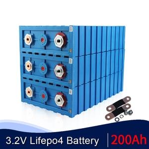 16pcs new calb 200ah lifepo4 lithium 3.2V lifepo4 battery NOT 100AH 80ah 120AH 150AH 180AH 280AH 300AH with Copper BusBars