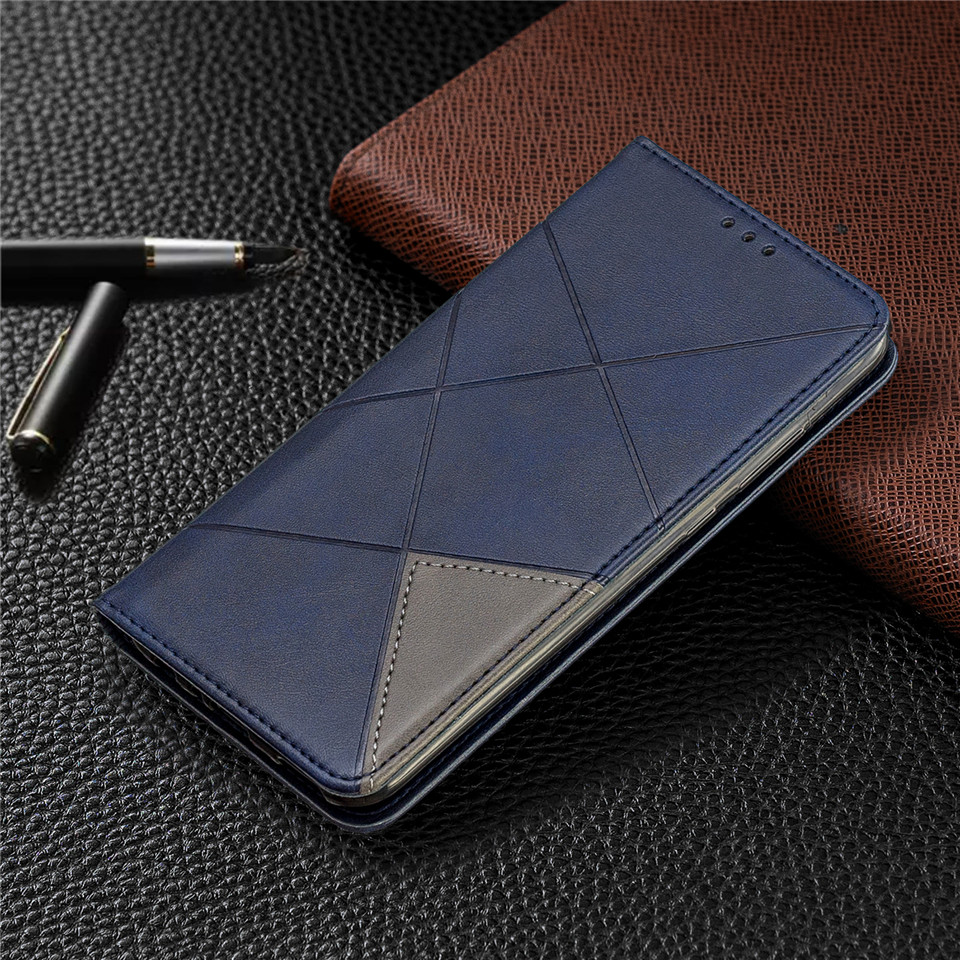 Hcd81929c59cf4ed6b1d34d9fbc5da8b4z For Huawei Honor 10 Lite Case Leather Wallet Flip Cover Soft Silicone Case for Honor 10i 9X 8A 8S Magnetic Case Card Holder