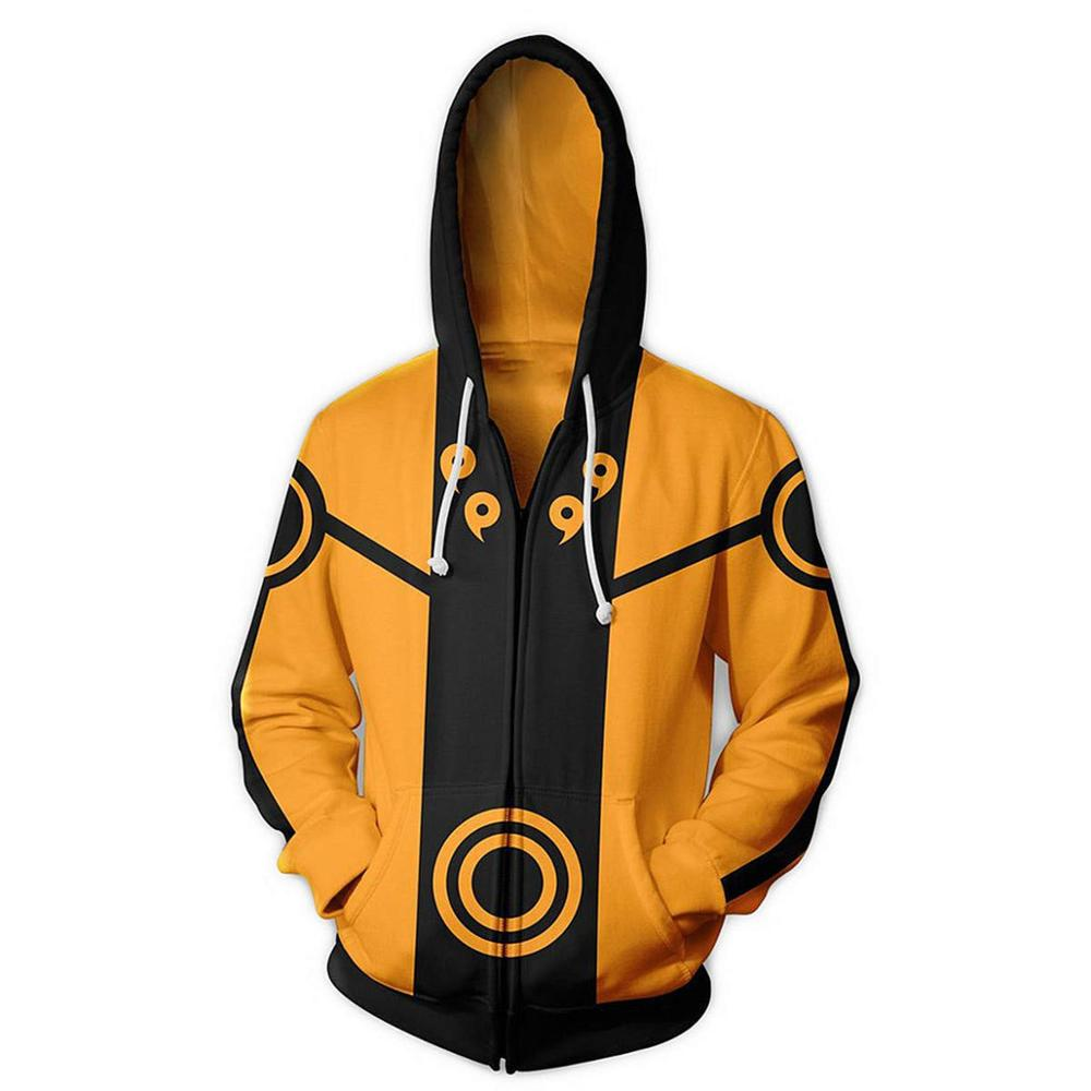 Boruto Naruto Hoodies Jacket Men Harajuku 3D Hoody Akatsuki Coat Uchiha Itach Cosplay Costume Kakashi Zipper Hooded Sweatshirts
