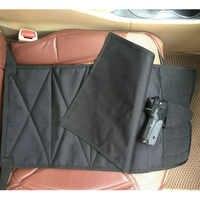 Sotto Il Sedile di Occultamento Pistol Holster con I Pezzi di Custodia per Medium Large Pistole Regolabile per La Maggior Parte Delle Auto Camion Furgoni Degli Stati Uniti Stock