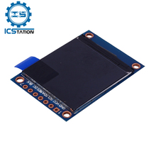 """1.3"""" 1.3 Inch LCD TFT Display IPS Full Color Screen SPI Interface Communication ST7789 Drive IC 240*240 for Arduino"""