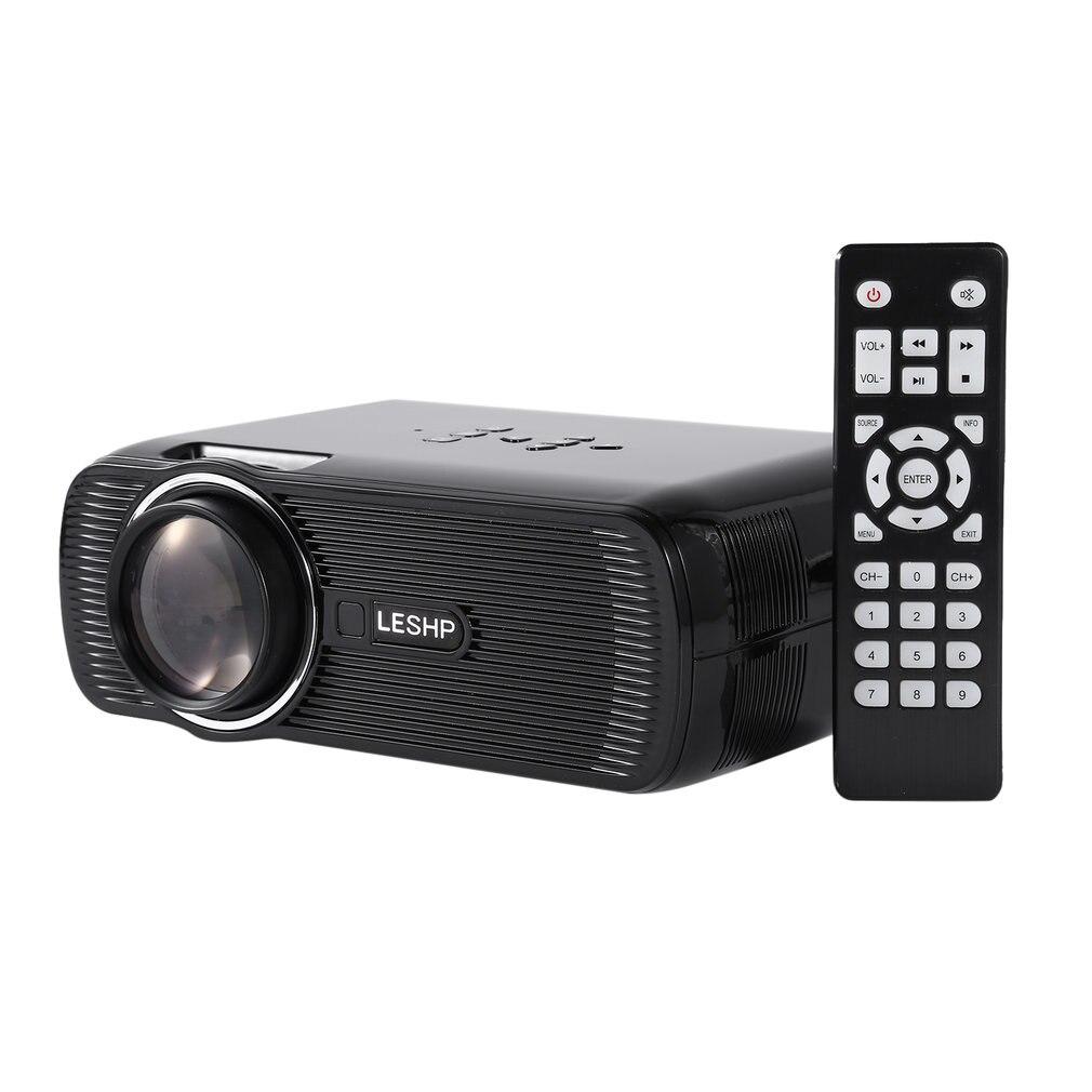 BL-80 projecteur Full HD 1200 lumen 800x480 Dpi HDMI projecteur LED pour 1080P vidéo projecteur maison médias PlayerTV boîte iPad Smartphone