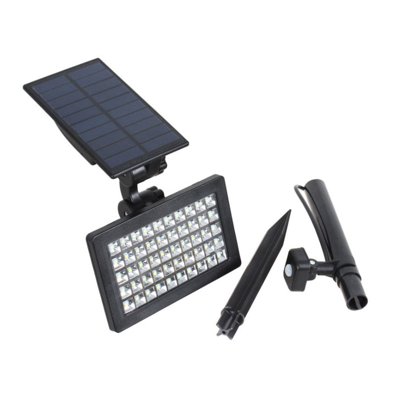 Oufula Solar Gazon Licht Led Sensor Licht Overstroming Licht Outdoor Waterdichte Tuin Tuin Licht - 5