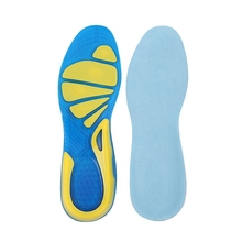 Men Running Shoes Insoles Foot Care Fasciitis Heel Support Sport Running Hiking Cycling Cushion Sport Insoles Shock Pads Insoles