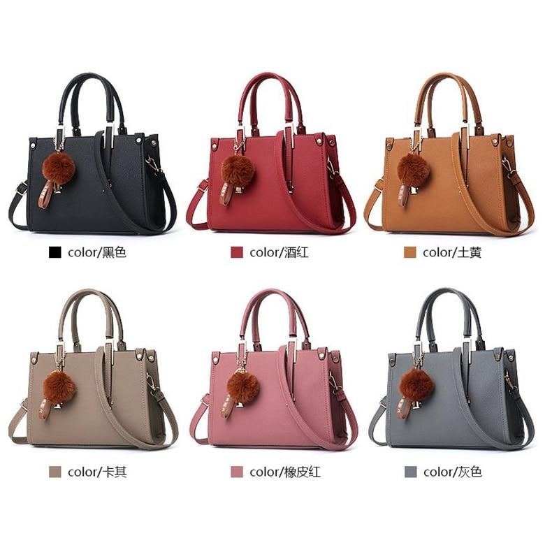 LKEEP Mini Boston Shoulder Bag Women Leather Long Handbags Female Crossbody Messenger Bag Bolsa Sac Fashion Ladies Small Tote 3
