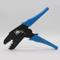 Oszczędność energii z grzechotką narzędzia do zaciskania dla izolowane zaciski/złącza AWG22 10 0.5 6.0mm2 HS 30J szczypce do zaciskania w Zaciski od Majsterkowanie na