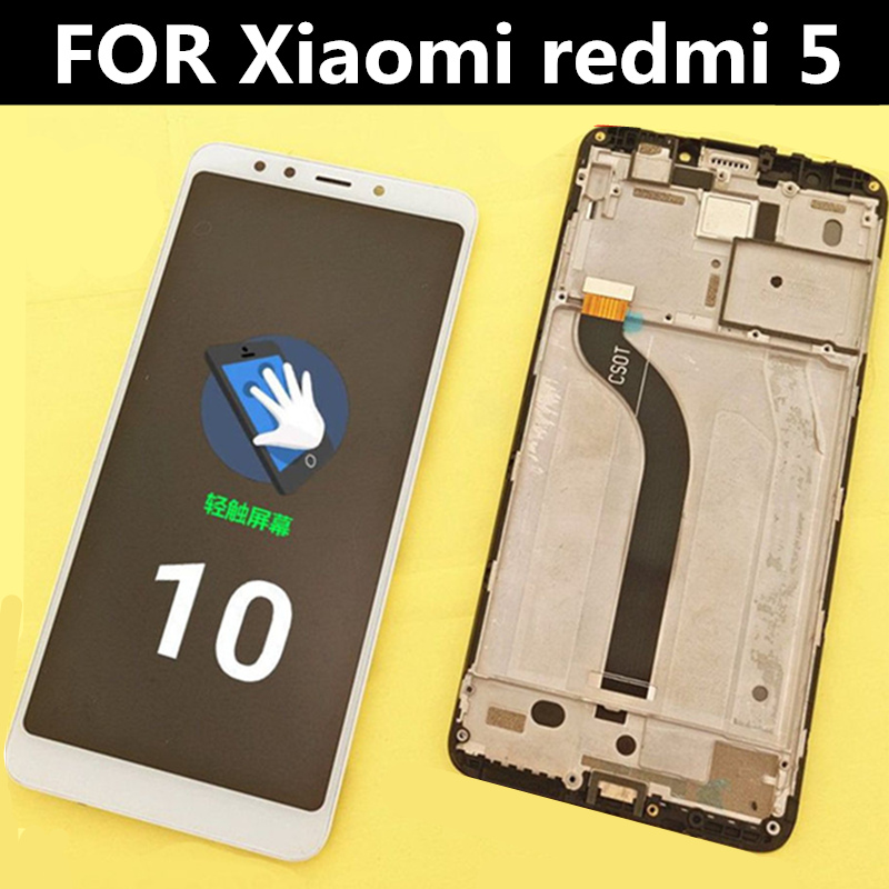 5 7 quot Lcd FOR Xiaomi redmi 5 LCD Display Touch Screen with frame Digitizer Assembly Replacement Accessories for phone redmi5 lcd in Mobile Phone LCD Screens from Cellphones amp Telecommunications