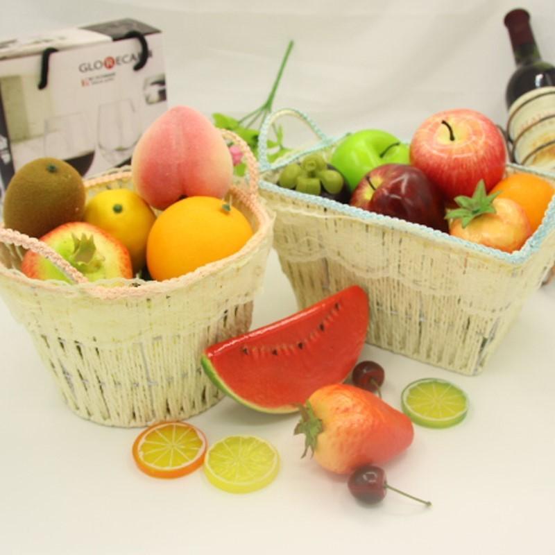 Искусственные фрукты поддельные пенные фрукты имитационная модель орнамент для домашнего интерьера Свадебные украшения Ремесло фотографии реквизит