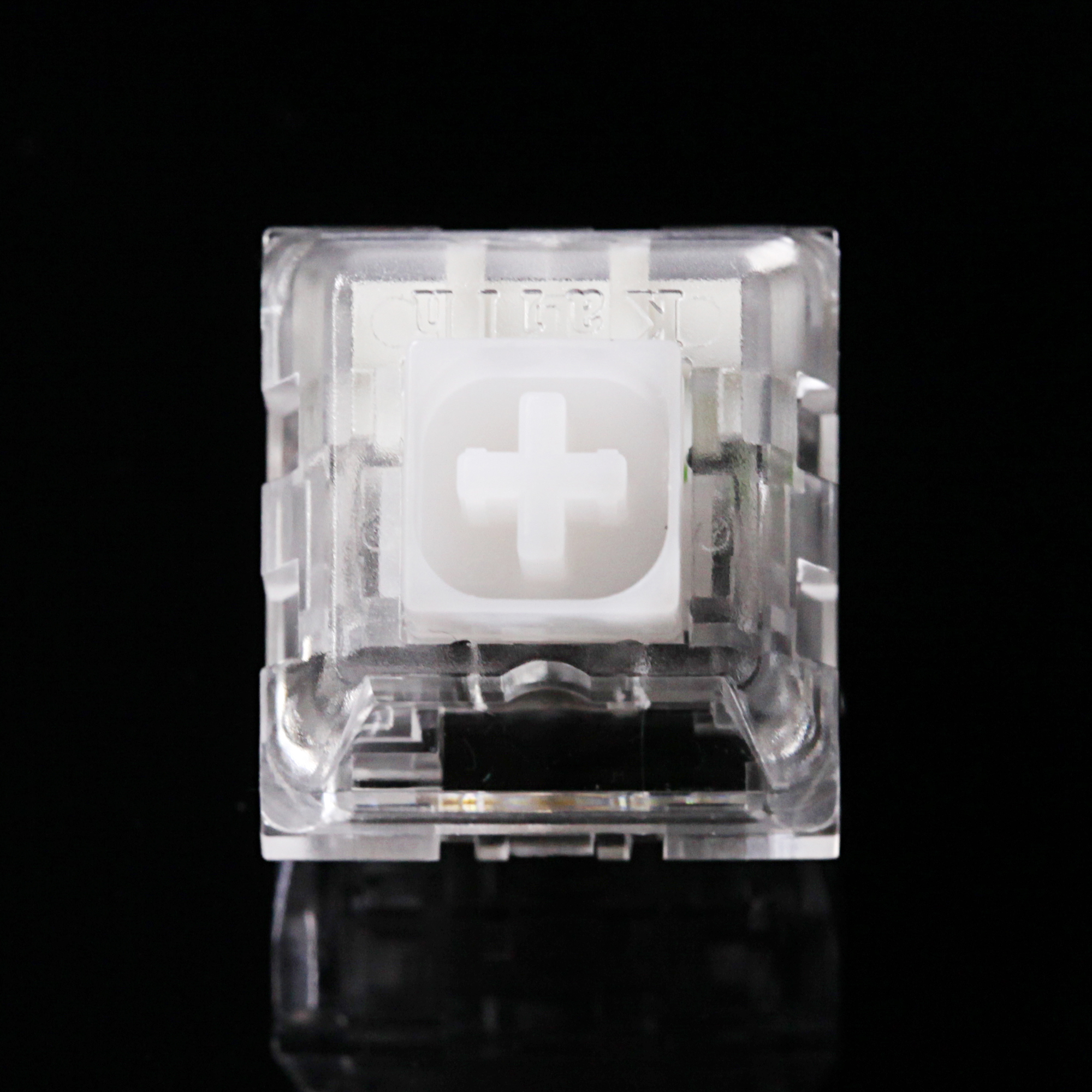 Kailh Box Crystal Tactile Switch SMD Clear MX Switches For Backlit Mechanical Gaming Keyboard 62g 67g 5pin 50m Clear Housing