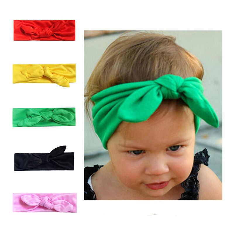 2 יח'\סט אמא אמא ובת ילדים תינוקת Bow בגימור שיער להקת אביזרי הורה לילד משפחה לבוש ראש להקת Headdres