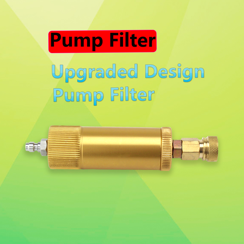 PCP Paintball Airforce High Pressure Pump Filter M10x1 Water-Oil Separator 40mpa 50cm Hose Air Filtering 8mm Quick Connector