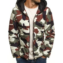 parka men coats 2019 winter jacket slim thicke camouflage european size