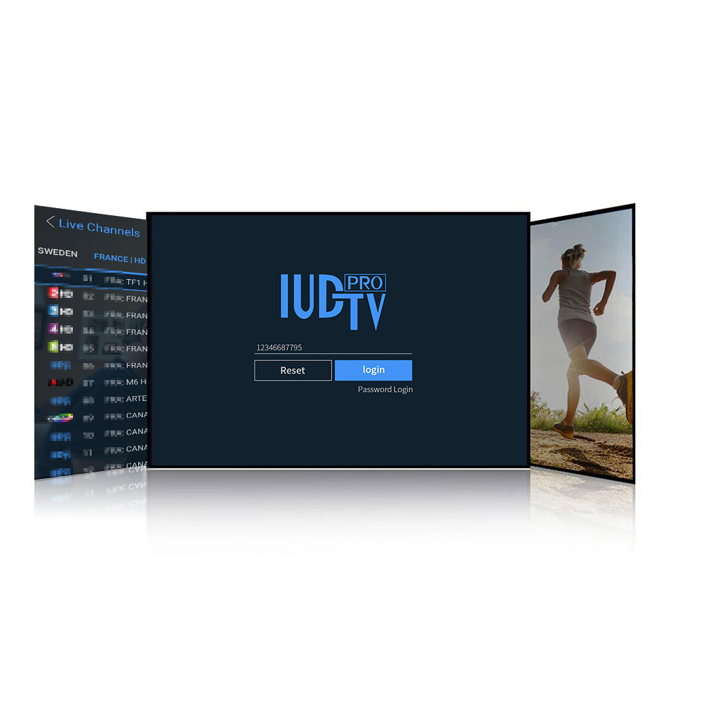 Image 4 - IPTV France Arabic Spain Italy Netherlands IUDTV Pro IPTV Subscription Germany Belgium Portugal Greece Poland Sweden Turkey IPTV-in Set-top Boxes from Consumer Electronics