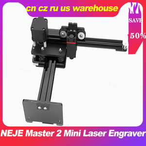 NEJE Master 2 Mini Laser Engraver Machine CNC Router Smart Wireless APP Control Support iOS & Android 110*120mm Engraving Area