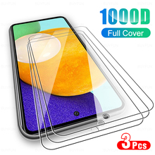 3 pezzi di vetro protettivo per Samsung Galaxy A52 A72 A32 A42 A22 5G protezione dello schermo per Samsung A52 A32 A72 4G vetro temperato per telefono