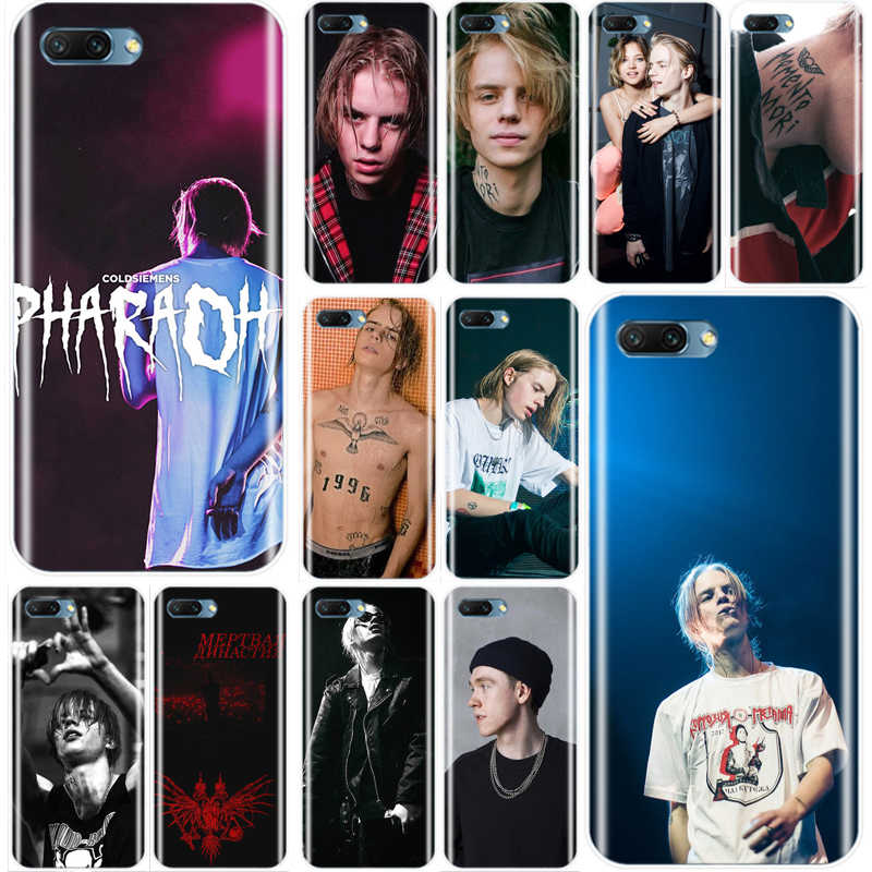Pharaoh Rapper Cover Soft Silicone TPU Phone Case For Huawei Honor 8 8C 9 10 NOTE10 lite MATE 7 8 9 10 20 pro