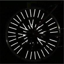 Wheel-Rim Reflector Warning-Light-Strip Spoke Mount Bicycle Riding Outdoor 12pcs Clip-Tube