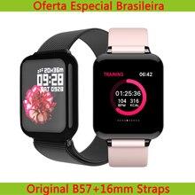 Torntisc Dropshipping B57 Frauen Smart Uhr Für Android iwo Uhr Herz Rate Blutdruck Hero Band 3 Smartwatch Männer