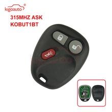 Kigoauto KOBUT1BT remote fob 3 button 315Mhz for Chevrolet  Silverado Suburban GMC Yukon Sierra 1998 1999 2000 2001 2002 for 2001 2002 gmc yukon xl 1500 yukon xl 2500 6 0l 8 1l oxygen sensor gl 24103 234 4103 12563345 12563346