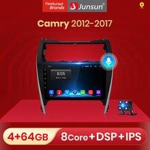 Junsun v1 2g + 32g android 10 dsp para toyota camry 7 50 55 2012  2017 rádio do carro reprodutor de vídeo multimídia 2020 navegação gps 2 din