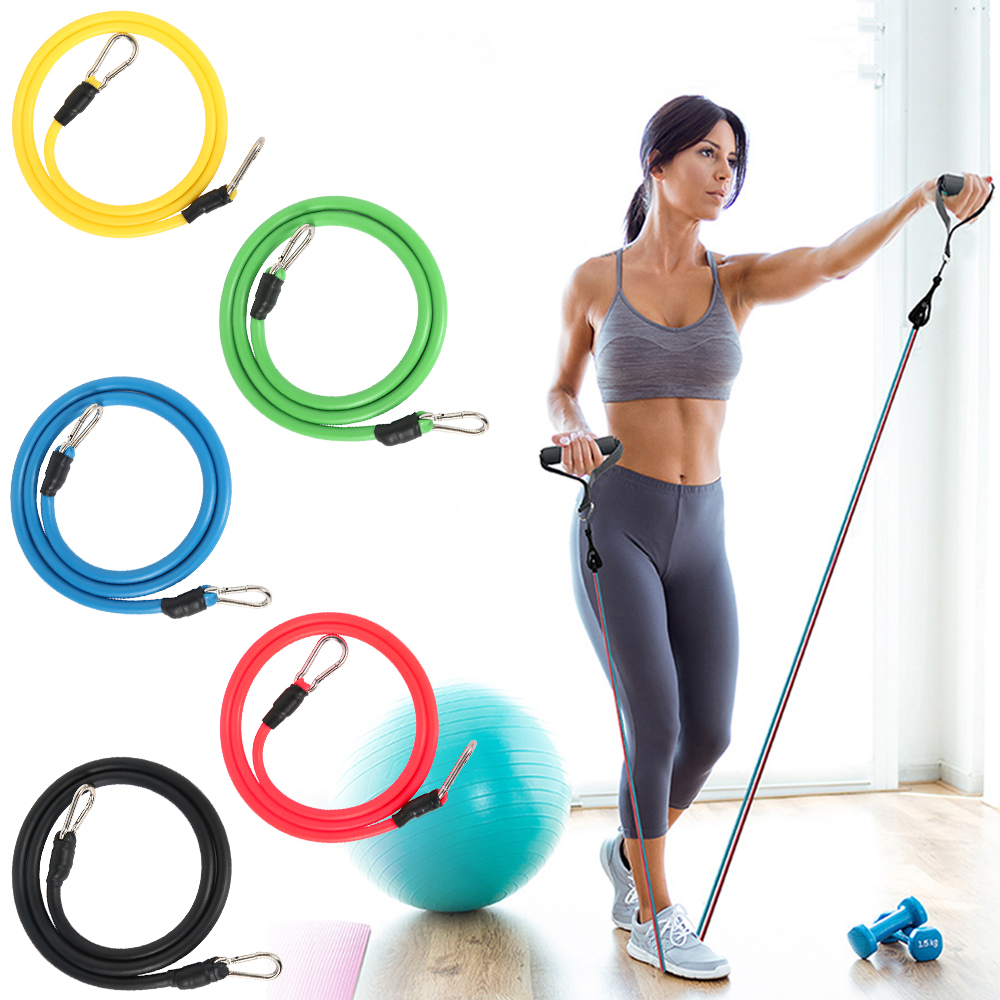 12Pcs/Set Resistance Bands set pull rope fitness band Expander Elastic Bands Yoga Tubes Latex bandas elasticas fitness equipment 2