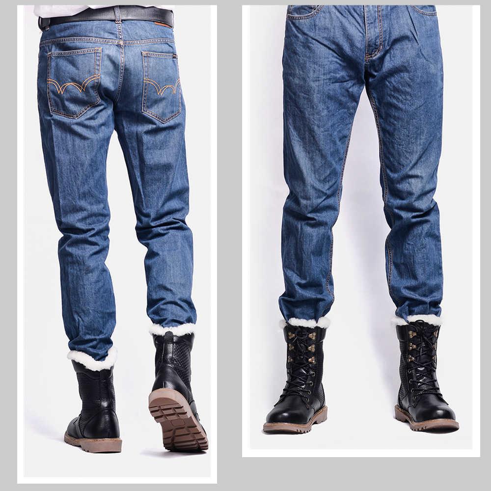 Doğal yün kış ayakkabı erkekler sıcak hakiki deri el yapımı kar kışlık botlar erkekler # YM1568