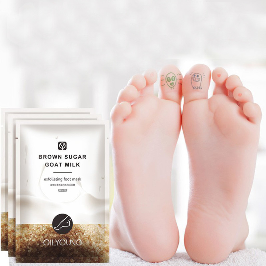 1 Pair Remove Dead Skin Foot Skin Smooth Exfoliating for Feet Mask Remove Dead Skin Heels Foot Peeling Feet Mask Foot Care Y813 5