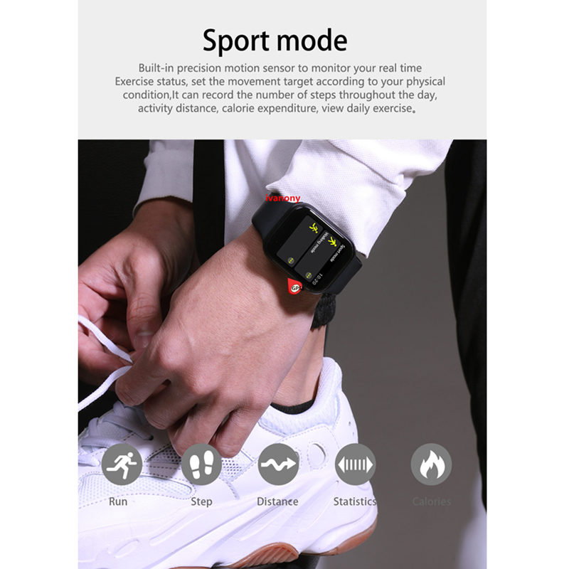 IWO 9 Bluetooth Smart Watch Series 4 1:1 Heart Rate GPS Tracker Sports Smartwatch For Iphone Samsung Fast Ship for Dropshipping - 5