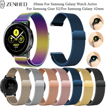 20mm Bracelet For Samsung Galaxy Watch Active smart watch Strap Gear S2 wristband Accessories 42m