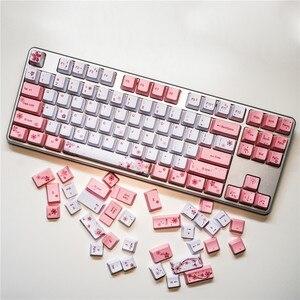 Image 5 - OEM PBT Keycaps Full Set Mechanical Keyboard Keycaps PBT Dye Sublimation Keycap For All Sakura Keycap Set