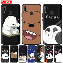 Lovely Panda Silicone Phone Case For Huawei Mate10 20 Lite Pro P8 P9 P1