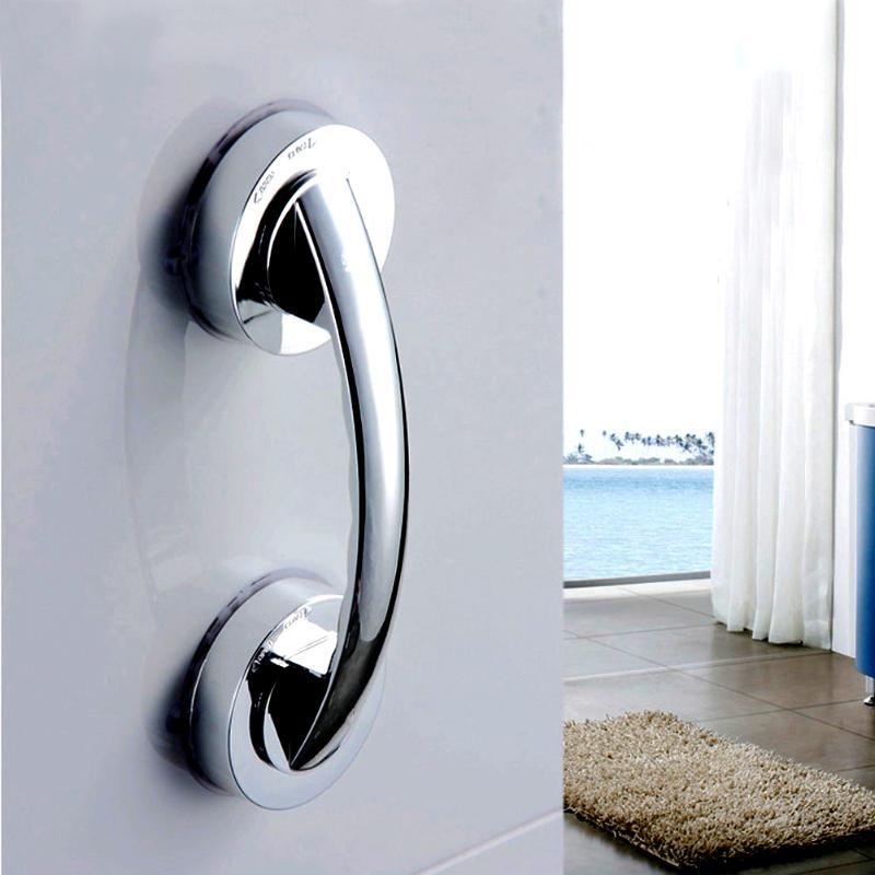 Suction Cup Grab Bar Handle Strong Sucker Handrail for Elder Bathroom Shower Safety Handrails Bathroom Accessories