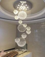 Plafonnier en cristal K9, design moderne, éclairage d'intérieur, garantie à 100%, 110/240 V, nouveauté