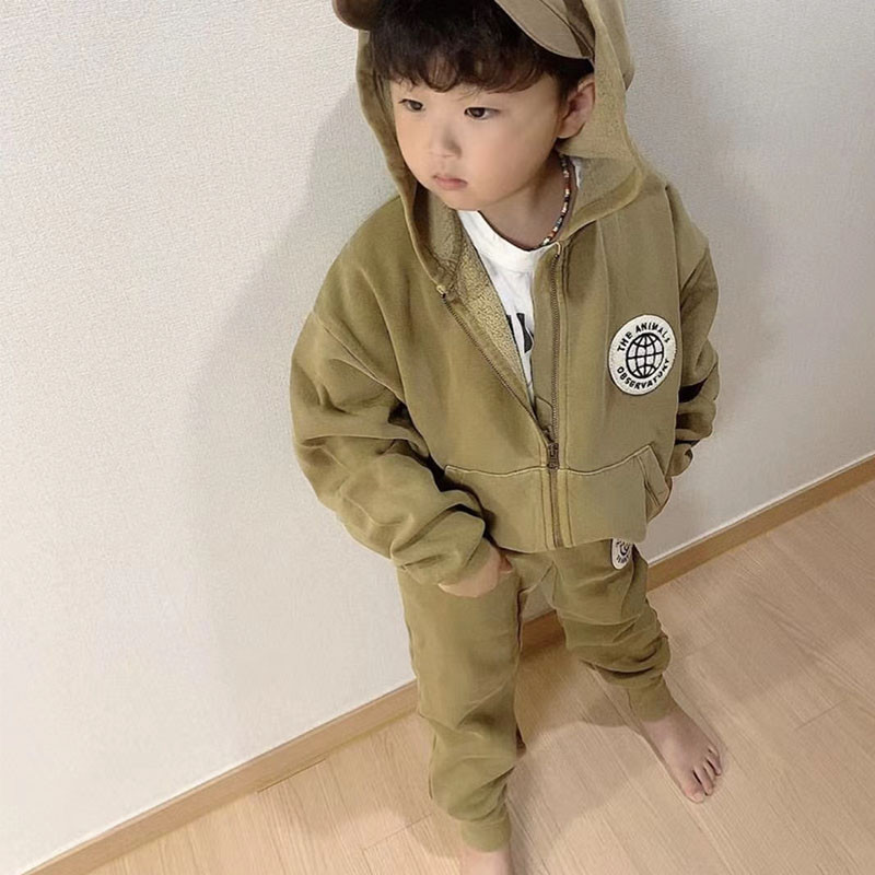 TAO Brand Kids Winter Clothes Sweatshirt Pants Children Boys Girls Fashion Baby Suits Girl Clothes Christmas Boutique Outfits 4