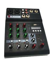 Professional Studio Audio Mixer Sound Card Mixing Console Input 48V Phantom Power Digital Amplifier Sound Board