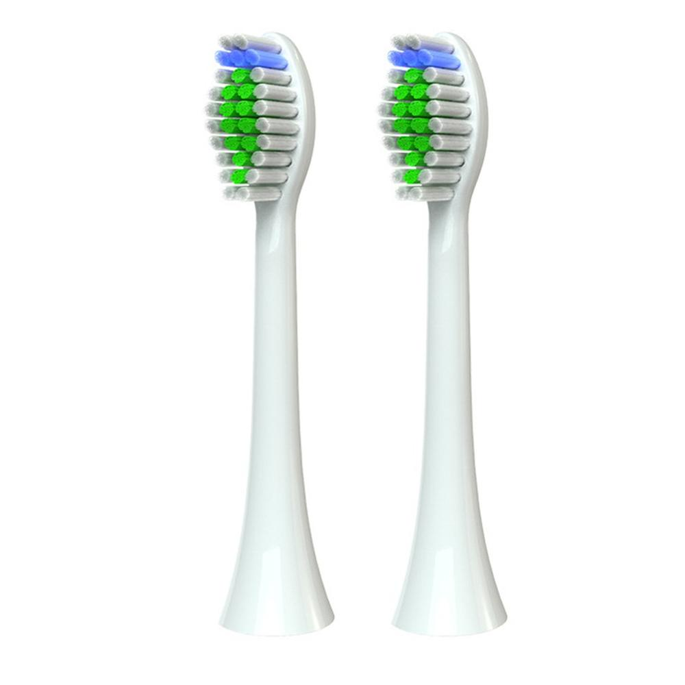 Dupont Soft Toothbrush Head For Philips Hx6014/6064 Toothbrush Head Electric Toothbrush Replacement Brush Head 2Pcs image