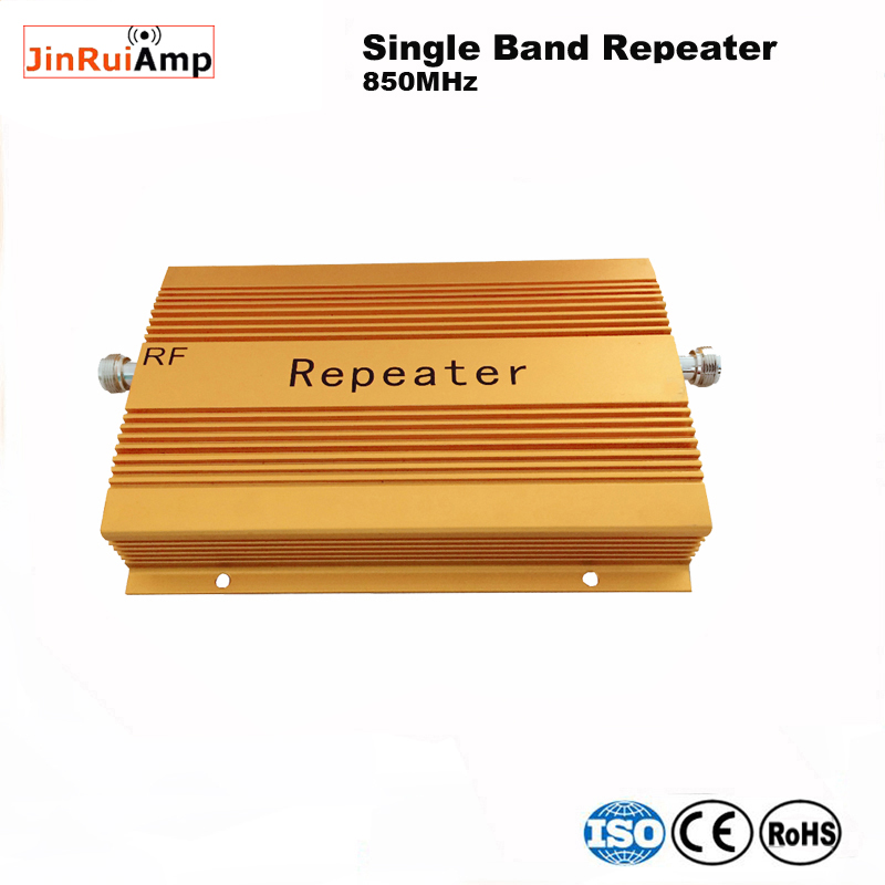 High Gain 80db Mobile Phone 3G GSM CDMA 850 Mhz 23dBm 850 Repeater Booster Cell Phone Mobile Signal Repeater Amplifier Repetidor