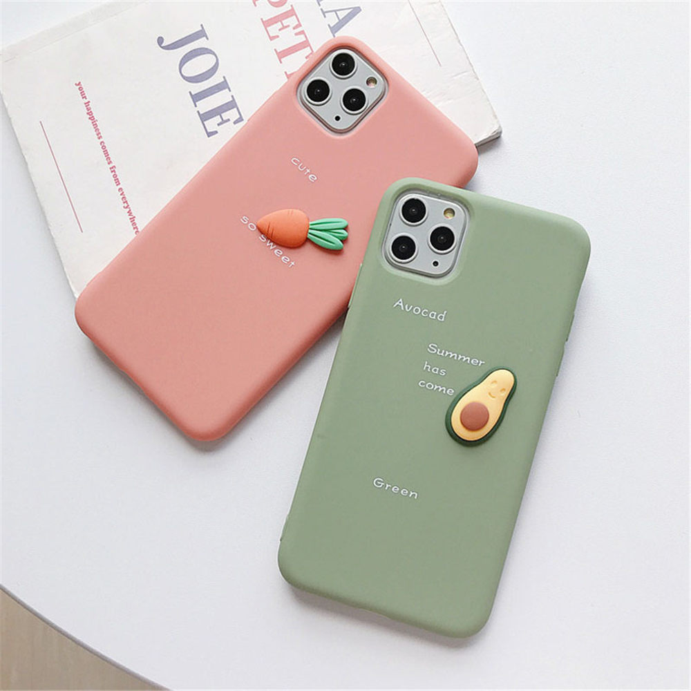 Candy Color Fruit Soft TPU Case For Iphone 11 Pro Max