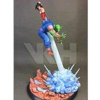 Anime Dragon Ball Piccolo VS Childhood Son Gohan Full Length Portrait GK Resin Action Figure Model Collectible Toy Statue R84