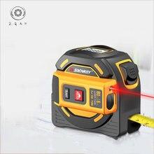 Лазерная рулетка дальномер высокоточная интеллектуальная измерительная