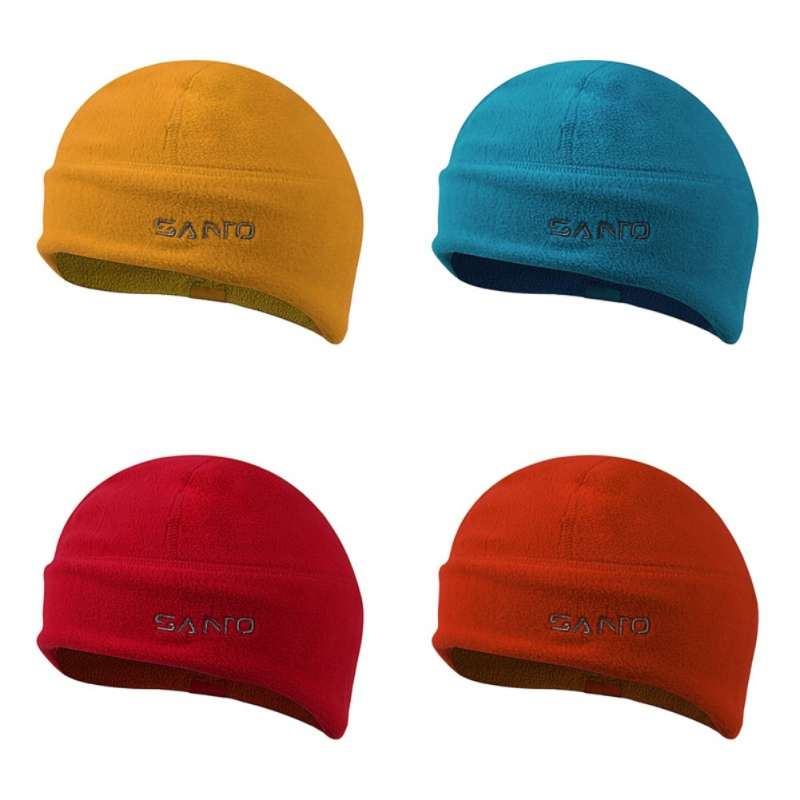 Unisex Winter Soft Warm Beanie Polar Fleece Watch Cap Windproof Thickened Beanie Hat For Oudoor Ski Climbing Camping