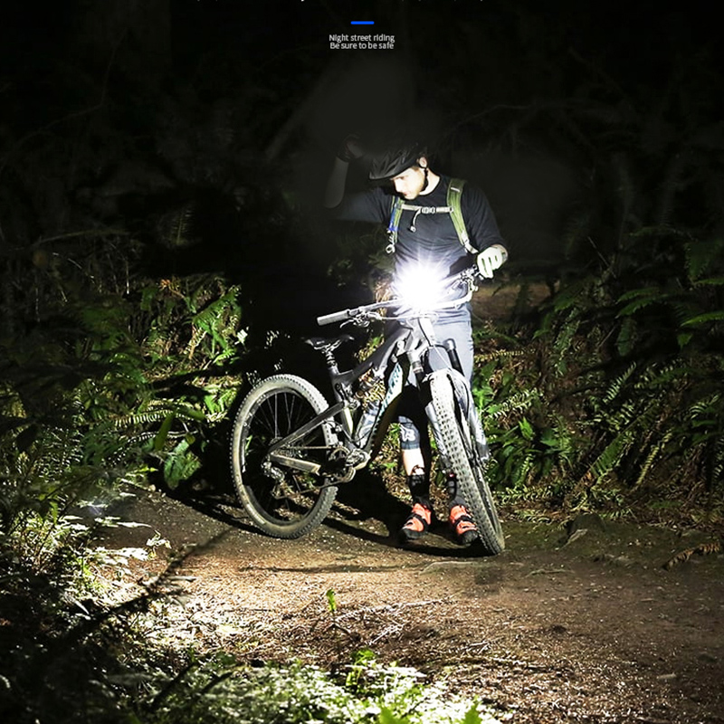 Bike Light Mini COB LED Headlight Headlamp Head Lamp Flashlight USB Rechargeable 18650 Torch Camping Hiking Night Fishing Light