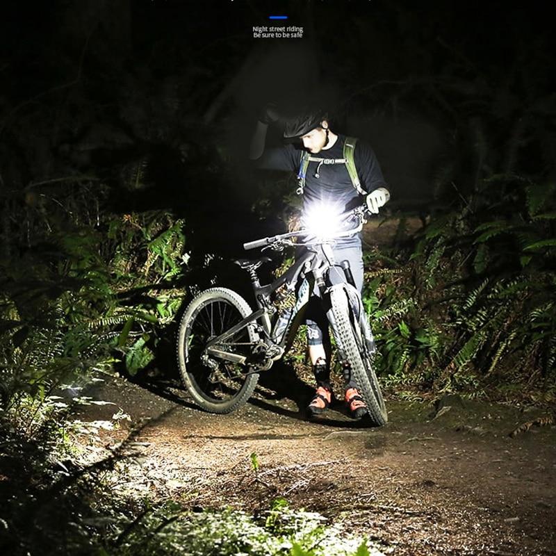 Bike Light Mini COB LED Headlight Headlamp Head Lamp Flashlight USB Rechargeable 18650 Torch Camping Hiking Night Fishing Light