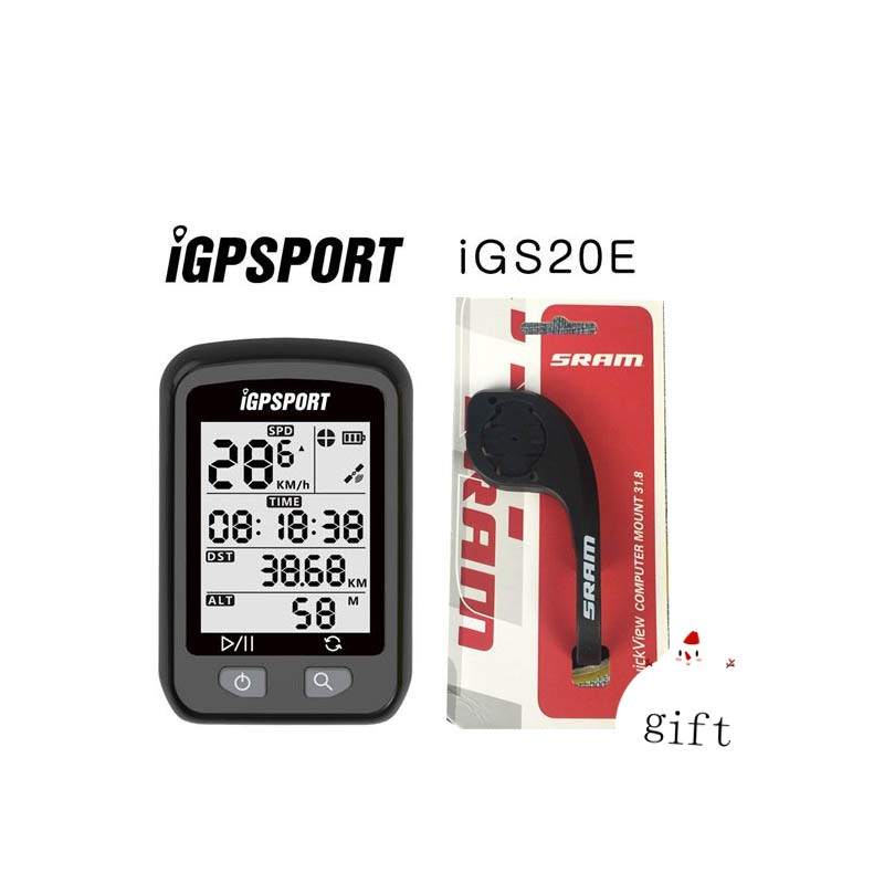 IGPSPORT Bike Draadloze Stopwatch GPS Fiets Draadloze Computer IPX6 Waterdichte Fietsen Snelheidsmeter