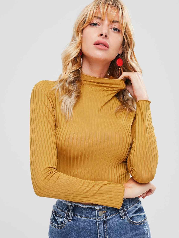 2020 겨울 풀오버 스웨터 여성 니트 탑스 작물 Boho 플러스 사이즈 여름 긴 소매 당겨 여성 솔리드 스웨터 Pullovers
