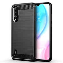 цена на For Xiaomi 9 Lite Case Silicone Rugged Armor Soft Cover Case For Xiaomi 9 Lite Protective Phone Fundas Coque Cases