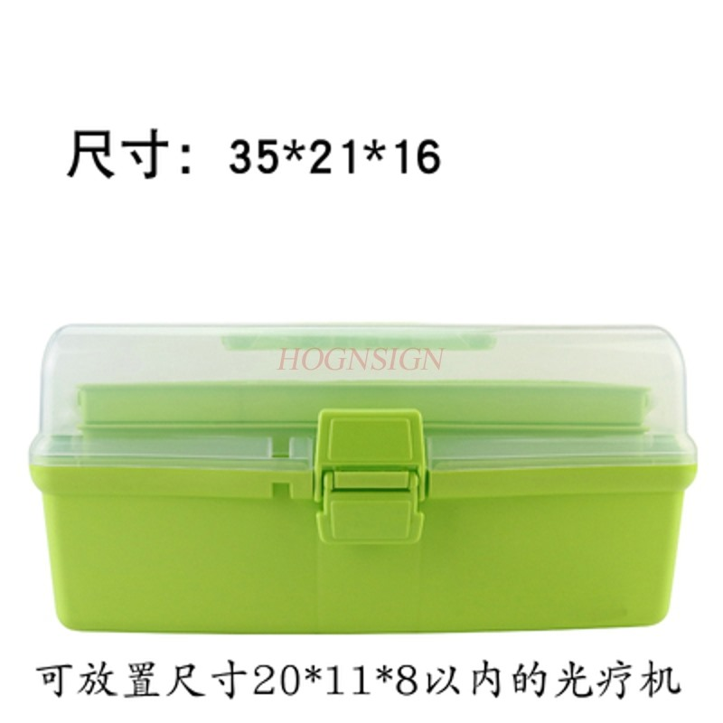 manicure pedicure Manicure toolbox storage box can be used in phototherapy machine multi-function portable beauty salon pedicure