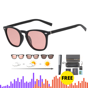 Image 1 - Brand Photochromic Sunglasses Women Luxury Brand Designer Polarized Sunglasses Chameleon Vintage Light adaptive Sunglasses Woman